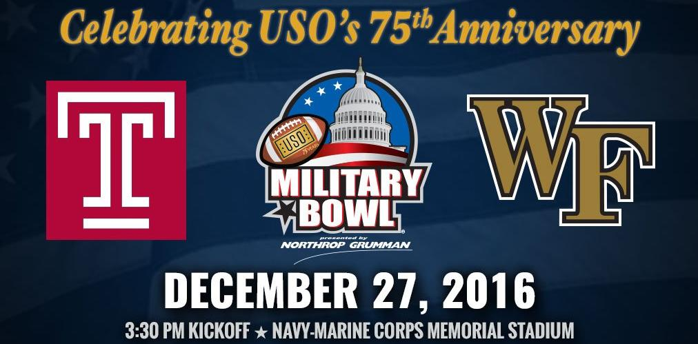 Military Bowl advertisement