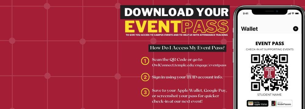 Event Pass Instruction Gaphic