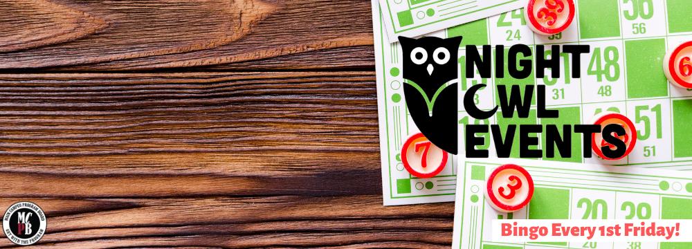 Night Owl Fridays Graphic