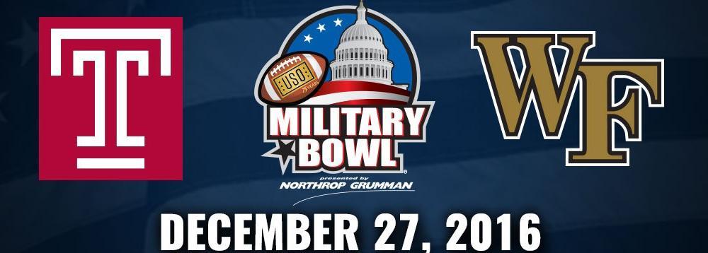 Military Bowl logo